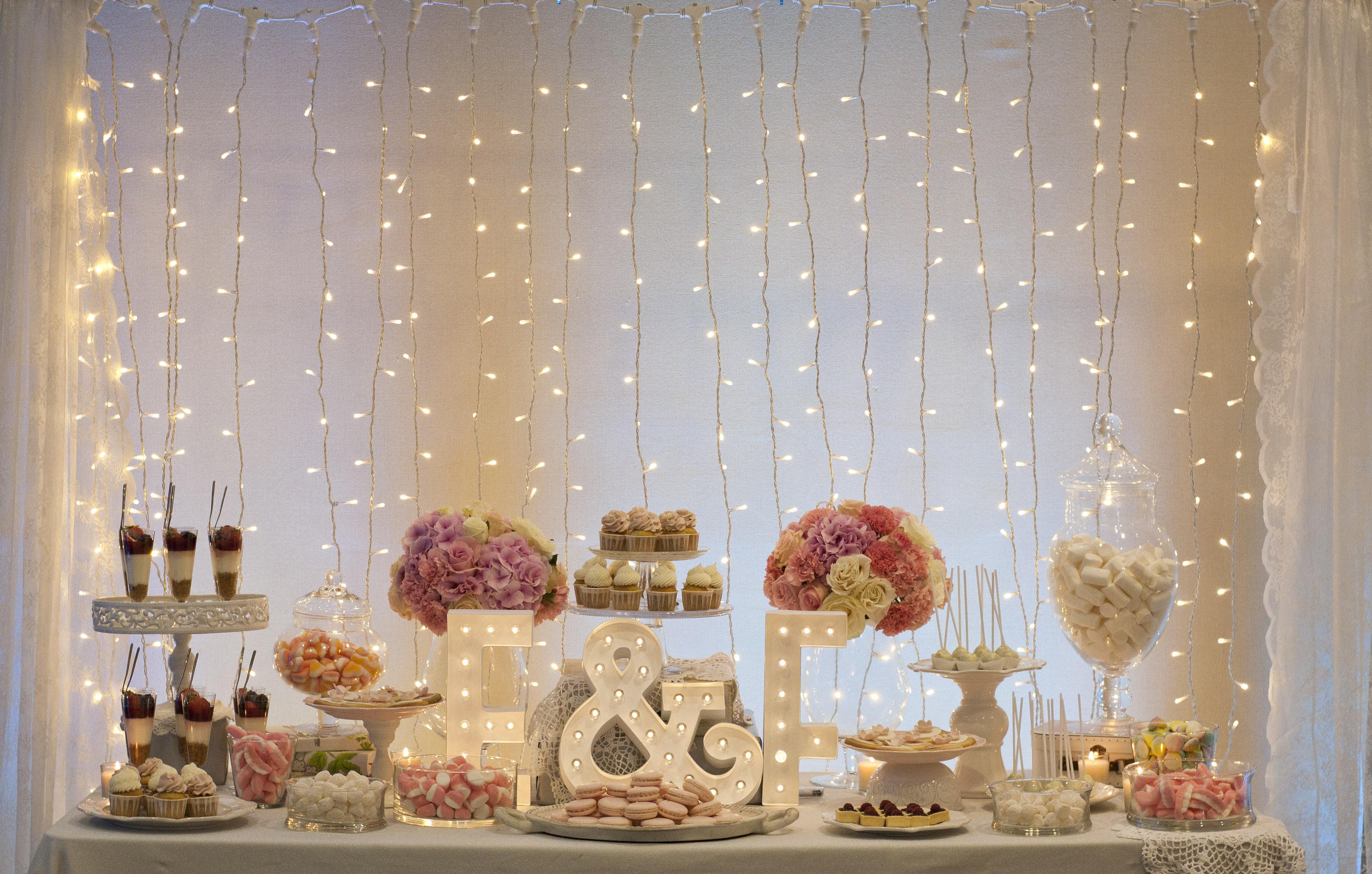 Mesas dulces platitos de az car for Mesas de dulces para bodas precios